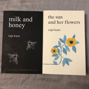 Milk and honey & the sun and her flowers
